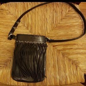 Micheal Kors brown belt bag